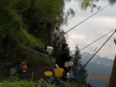 Rybářské závody Veselá u Mnichova Hradiště 2010