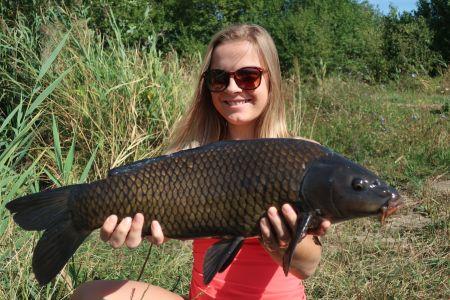 Dcera na rybách