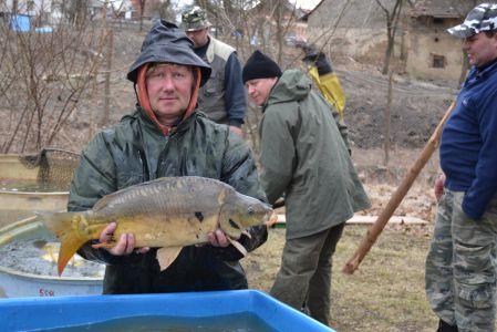Bezděz - 26.3.2011, výlov rybníka
