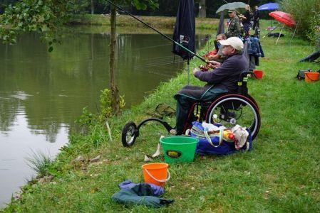 Podzimní a Dětské závody handicapovaných rybářů Kladruby