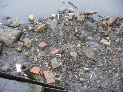 Výlov Bělského rybníka (papírny) 28.3.09