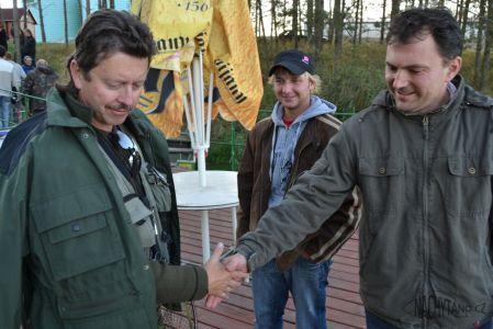 Dorádo cup - 15.11.2011, pískovna Roudnice