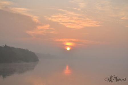 Itálie řeka Pád - říjen 2011