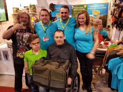 Handicapovaní rybáři Kladruby na FOR FISHING 2019