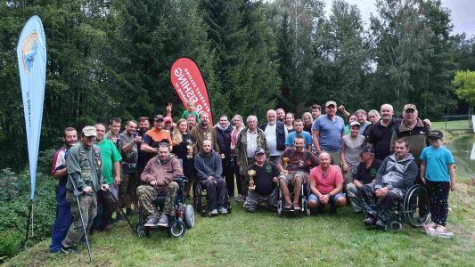 Zpráva o 24hodinových závodech handicapovaných rybářů Kladruby