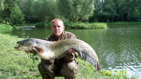 Sumec z Vodice 118cm.13,80kg.14.7.2012