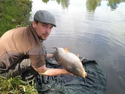 Kaprařina na Podnovoveském rybníce